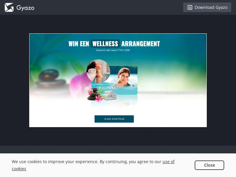Wellness Voucher - INCENT - NL