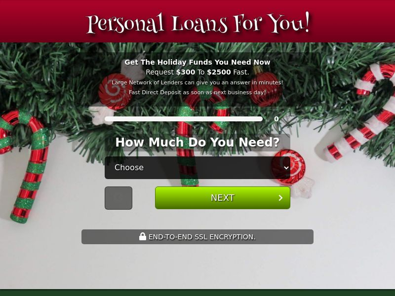 Personal Loans For You - REVSHARE