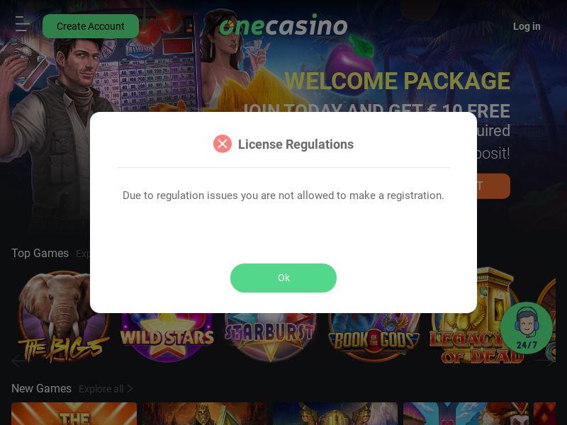 One Casino - CPL - DE/AT