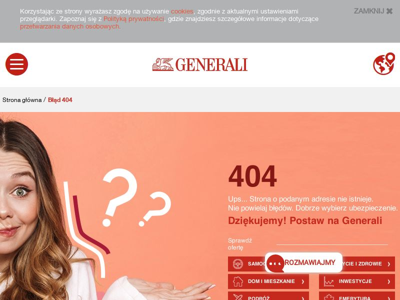 GENERALI - PL (PL), [CPS], Business, Insurances, Sell, assurance, security, safe