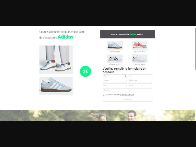 Adidas - Sweepstakes & Surveys - Trial - [FR]