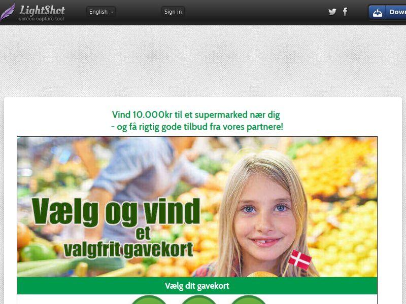 Supermarket Voucher v1 (Sweepstake) (SOI) - Denmark
