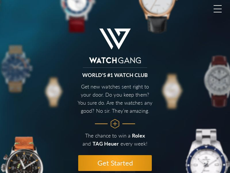 Watch Gang - Watch Club Subscription (CPS) - Subscription Boxes/eCommerce - US, AU, CA, UK
