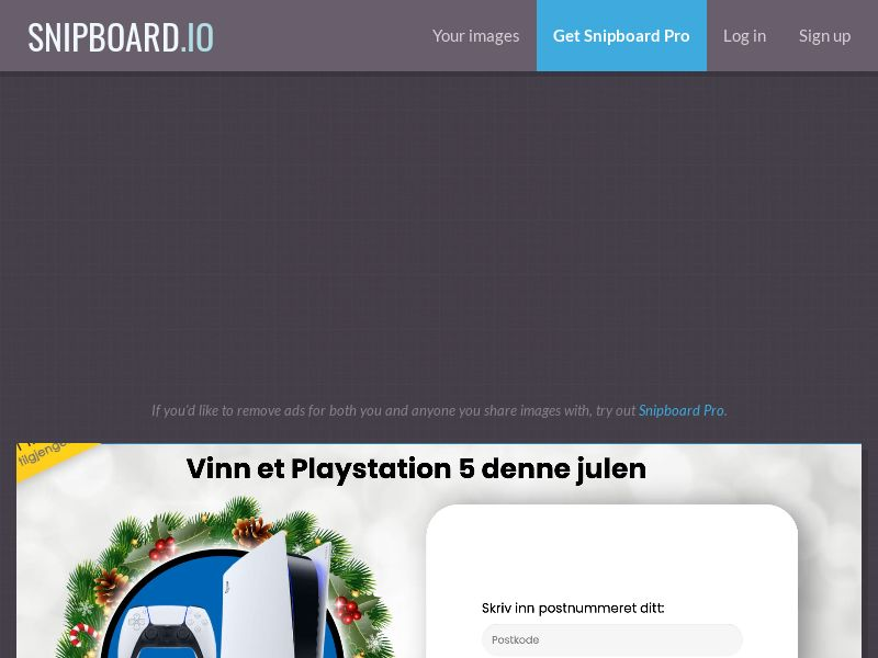 YouSweeps - Win a playstation 5 christmas NO - SOI