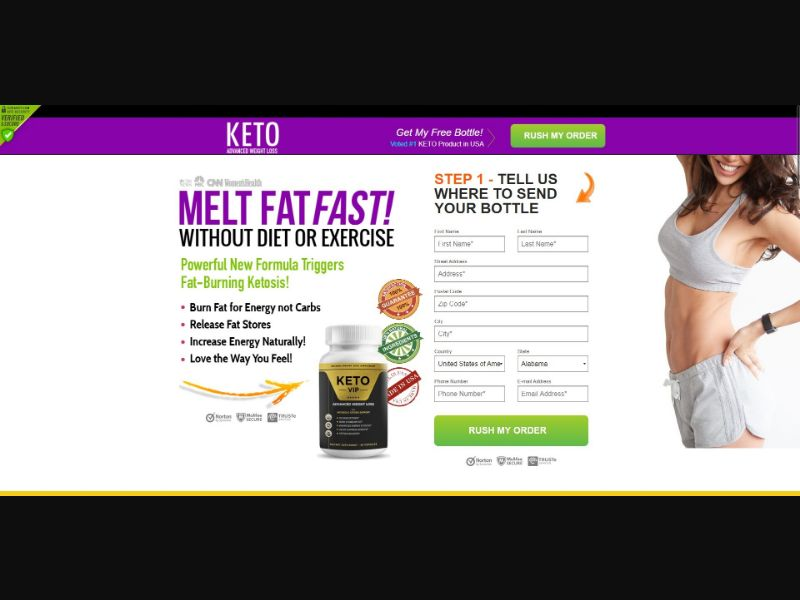 Keto VIP - Diet & Weight Loss - SS - [US]