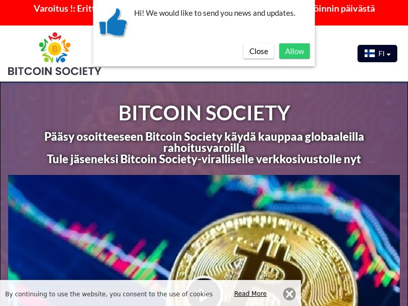 Bitcoin Society Finnish 2986