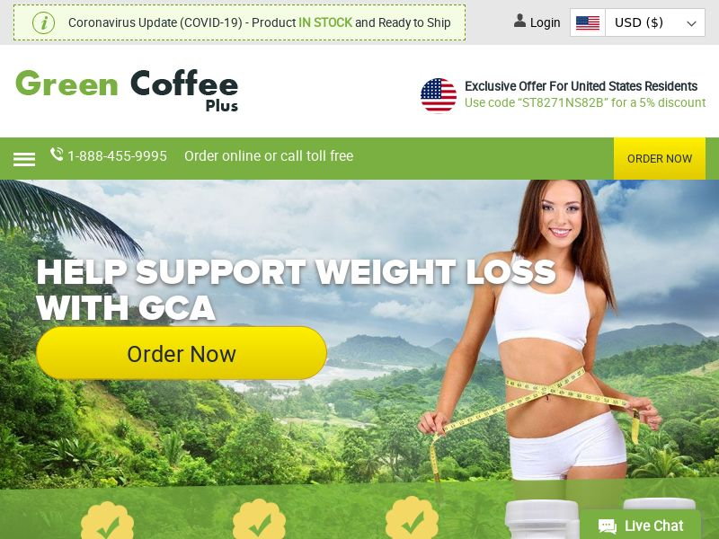 Green Coffee Plus | Natural Weight Loss & Antioxidant Supplement