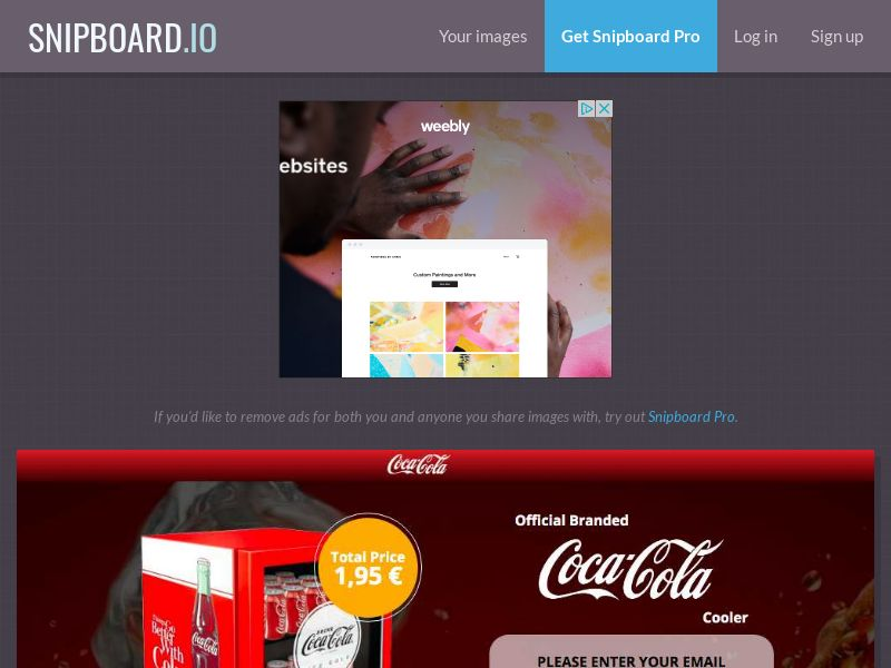 G33K Premium - Coca Cola Fridge FR - CC Submit