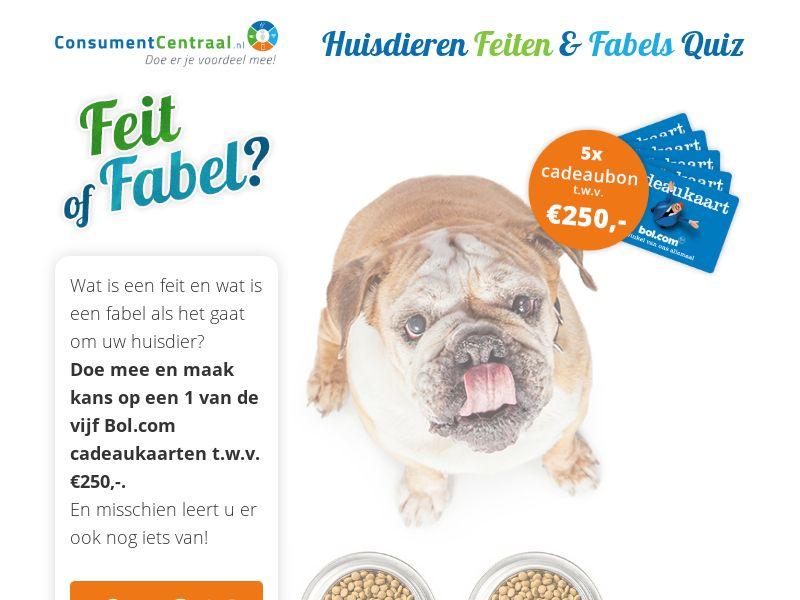 (12684) [WEB+WAP] Huisdieren Feiten & Fabels Quiz - NL - CPL