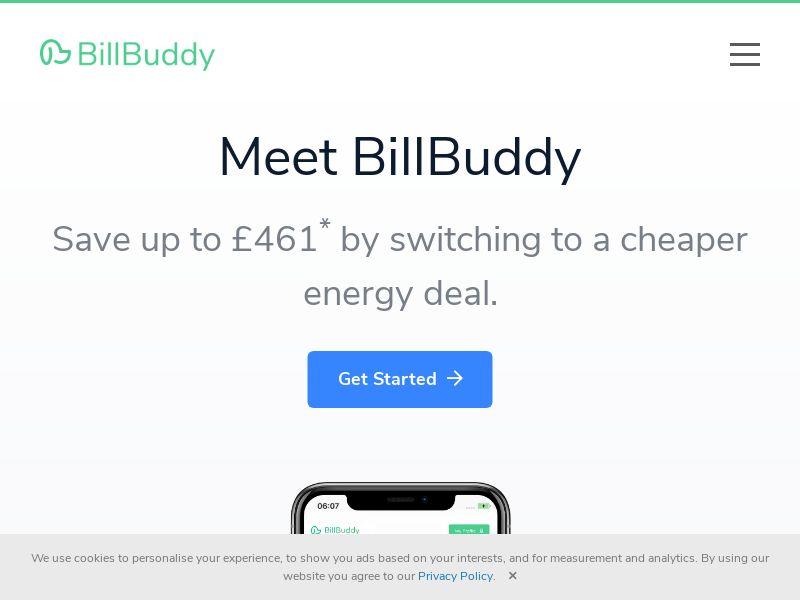 BillBuddy - Compare Energy Providers [UK]
