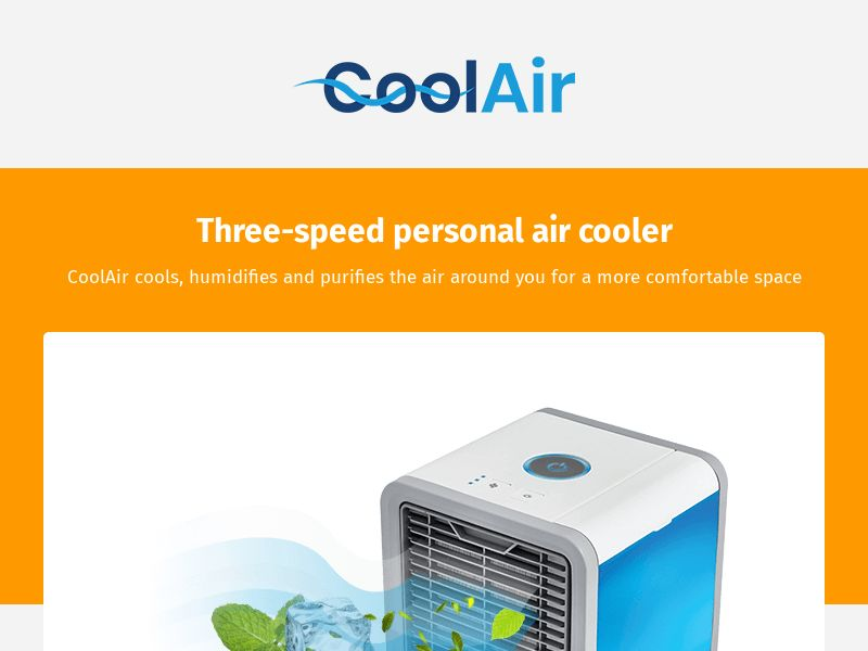 CoolAir (MultiGeo), [COD], Appliances and Electronics, Household goods, Sell, shop, gift