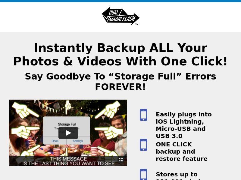 Dual Magic Flash - CPA - Desktop & Mobile [INTERNATIONAL]