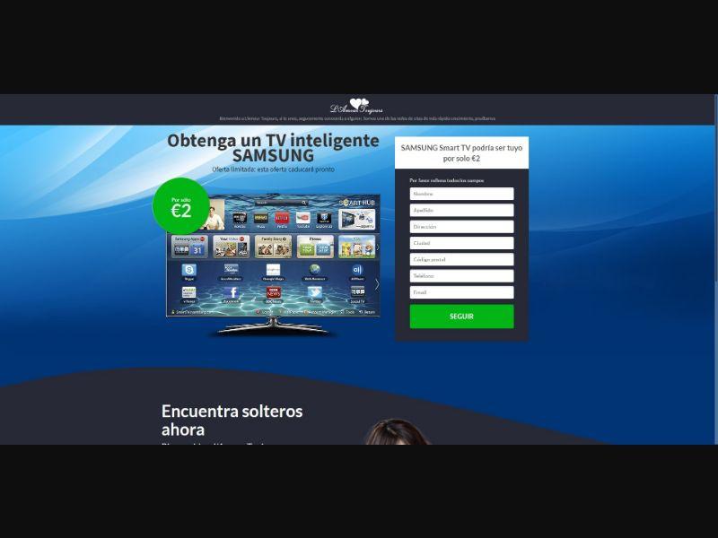 L'Amour Toujours Samsung Smart TV - Sweepstakes & Surveys - Trial - [ES]