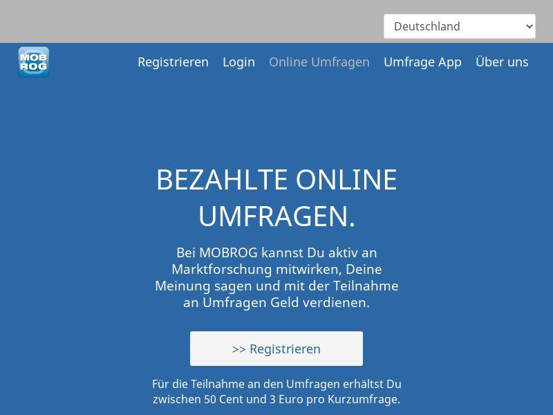 MobRog Online Surveys [DE]
