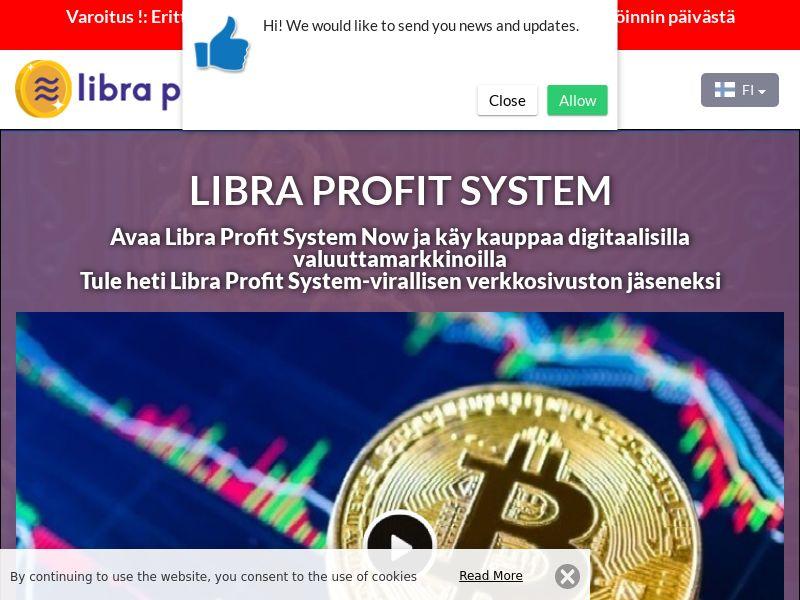 Libra Profit System Finnish 3626