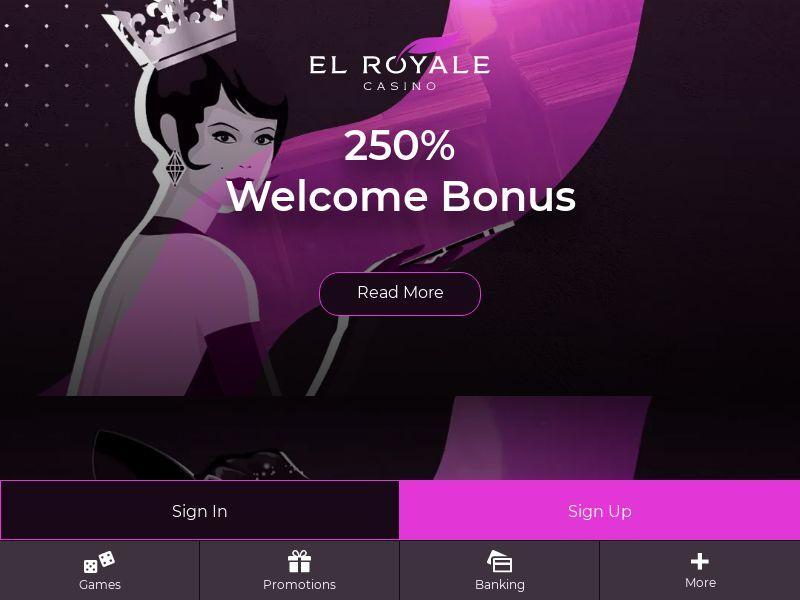 El Royale Homepage - CA, US, AU
