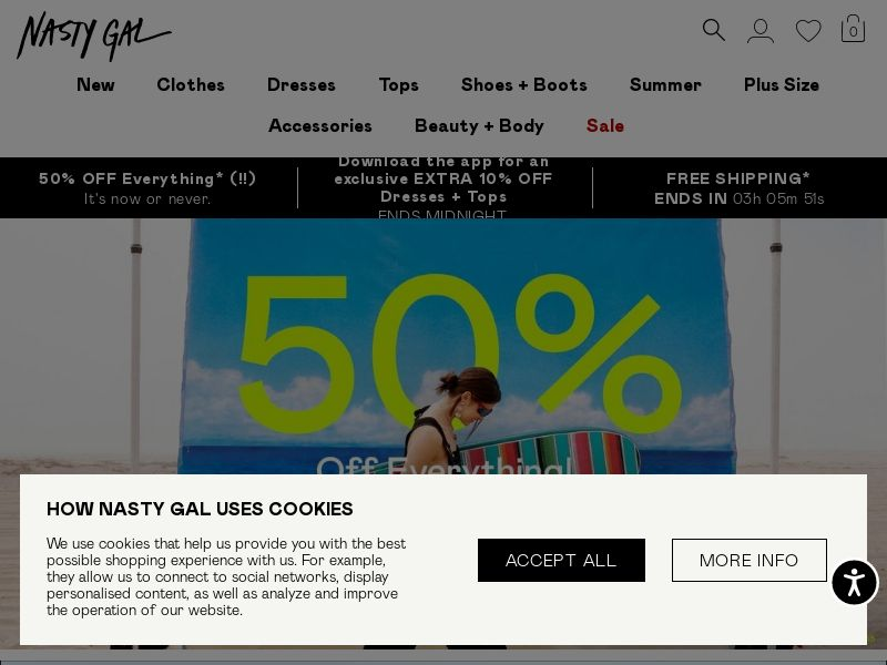 NastyGal - FR (FR), [CPS], Fashion, Clothes, Shoes, Accessories and additions, Accessories, Jewelry, Presents, Sell, shop, gift