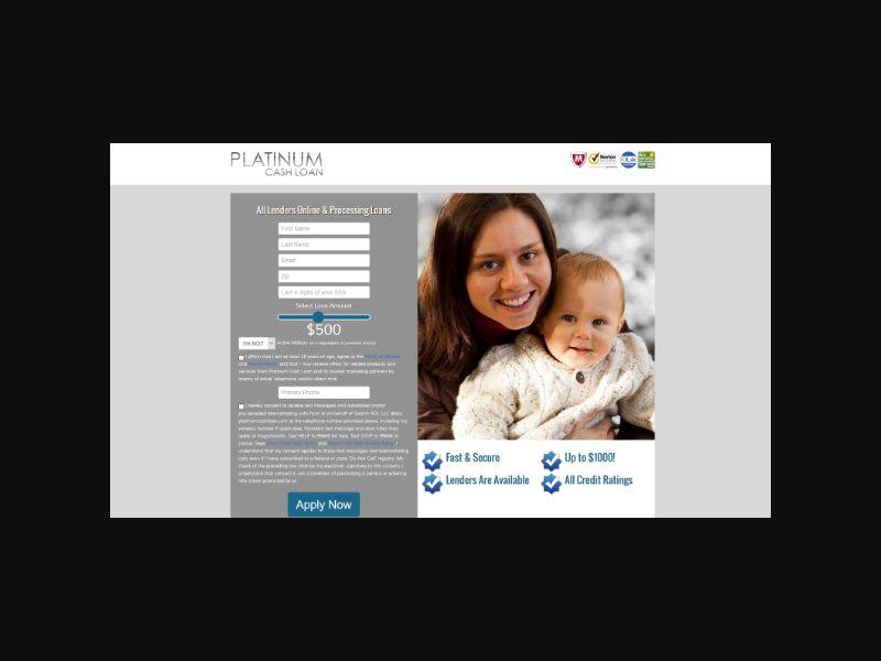 Platinum Cash Loan - US