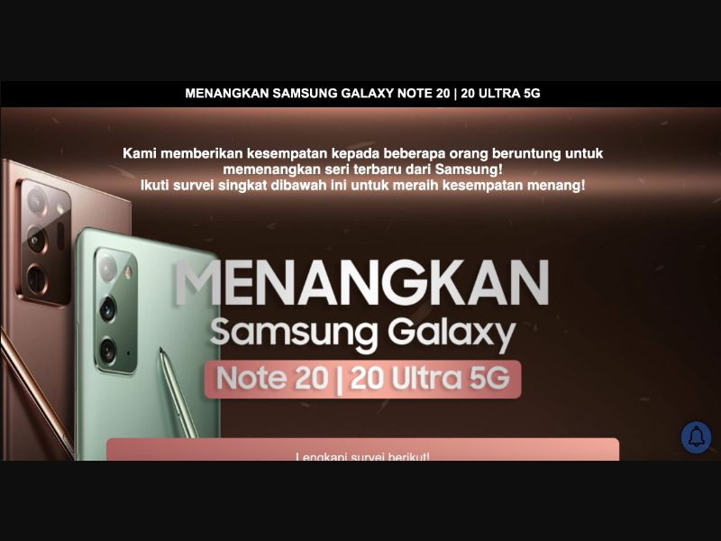 Samsung Galaxy Note 20 - CPL SOI - ID - Sweepstakes - Responsive