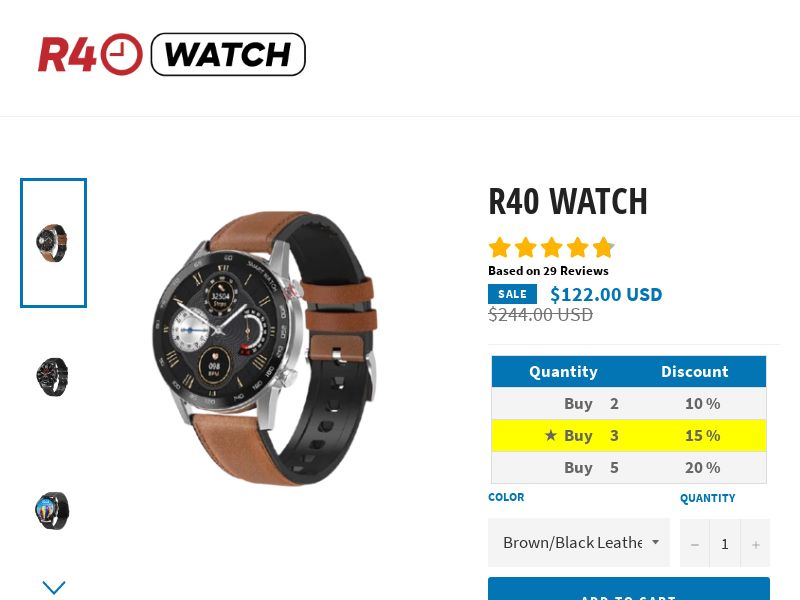 R40 Watch