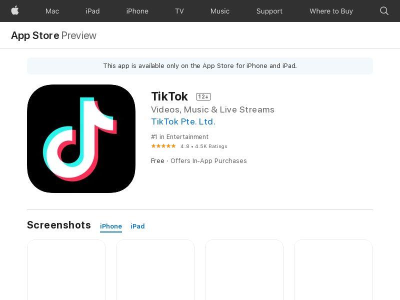 ! TikTok iOS IT