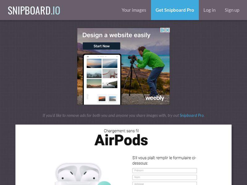 BigEntry - AirPods v1 FR - CC Submit