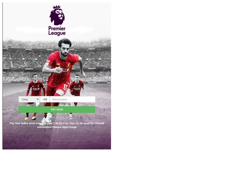 Premier League Ufone