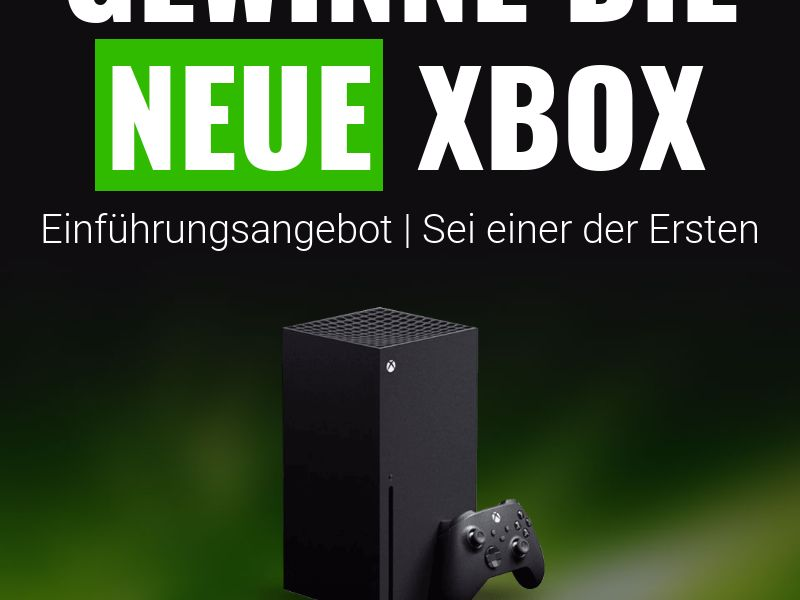 Xbox Giveaway [DE] (Email,Native,Social,Banner,Push) - CPL