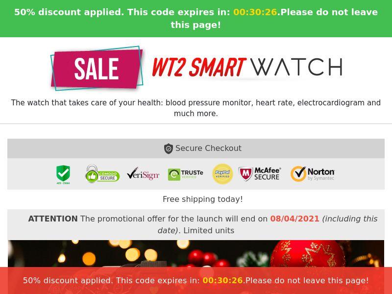 Wt2 Smart Watch