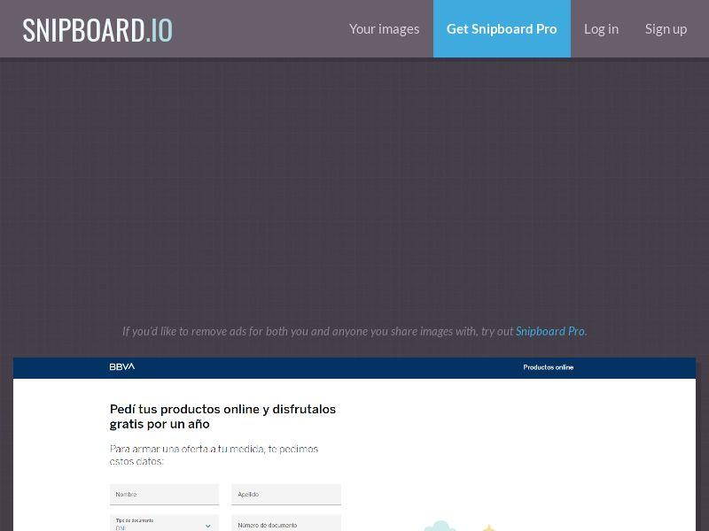 41945 - AR - BBVA Tarjeta de crédito - SOI