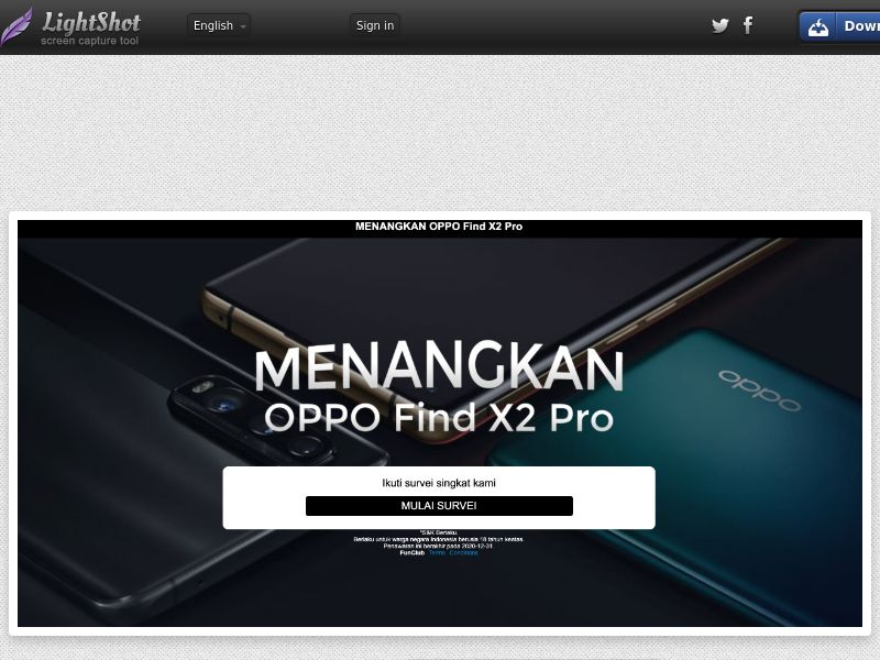 Win the Oppo Find X2 - ID