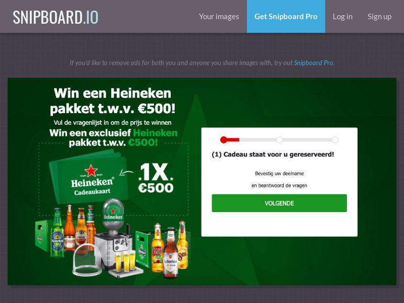 37513 - NL - WinAds - Heineken Beer- SOI