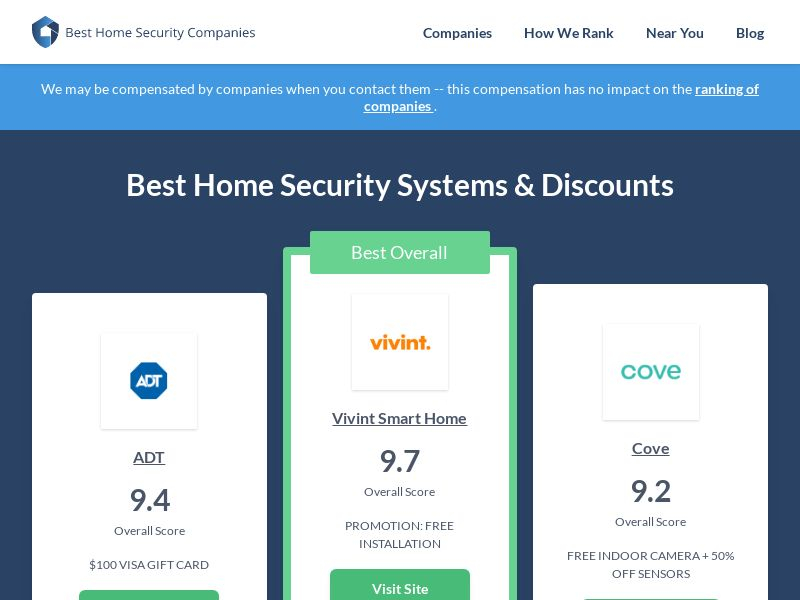 CPC - Best Home Security