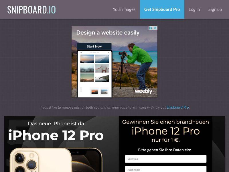SteadyBusiness - iPhone 12 Pro LP62 DE - CC Submit