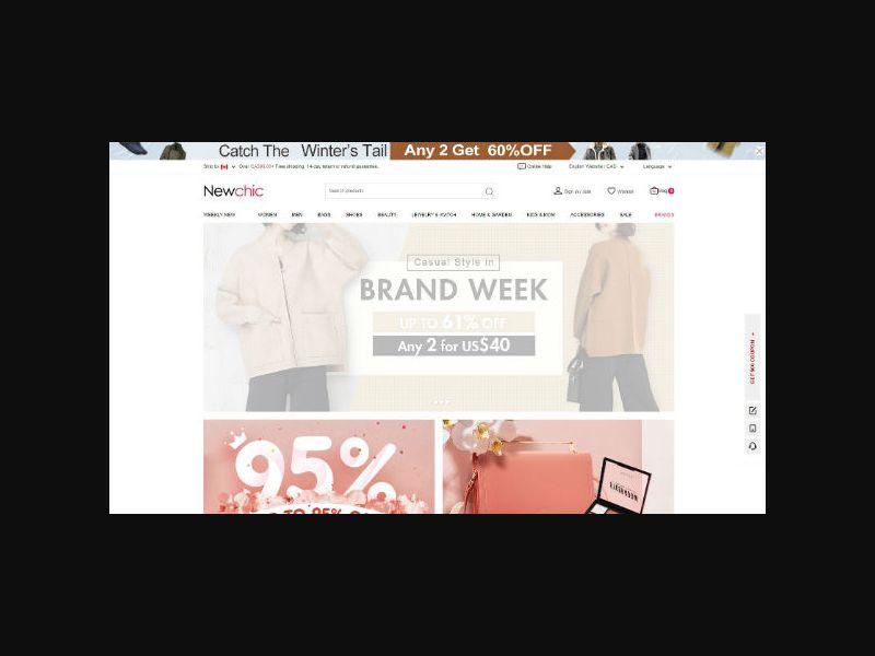 NewChic - Fashion eCom - RevShare (Web)