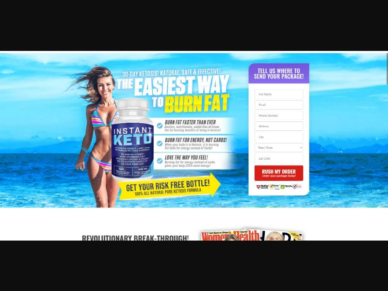 Instant Keto - Diet & Weight Loss - SS - [US]