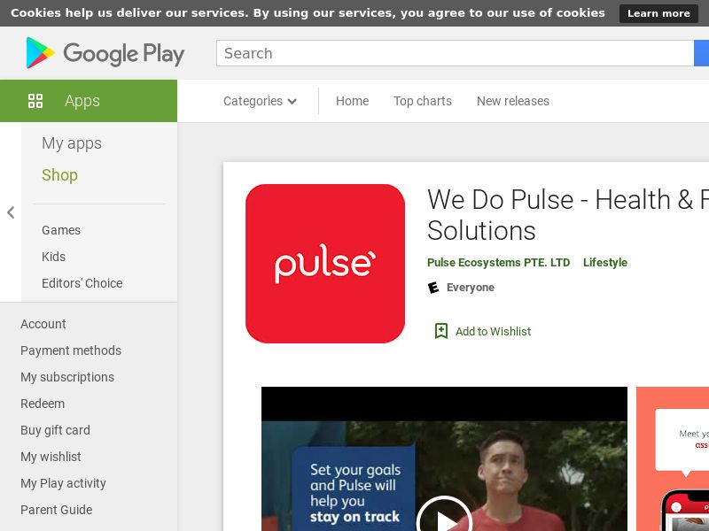 We Do Pulse - Health & Fitness Solutions Android VN