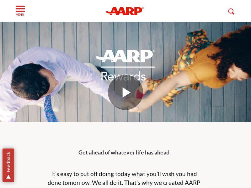 AARP Rewards - Desktop/Mobile - US - (DOI)