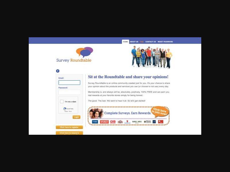 Survey Roundtable Recruitment (US)