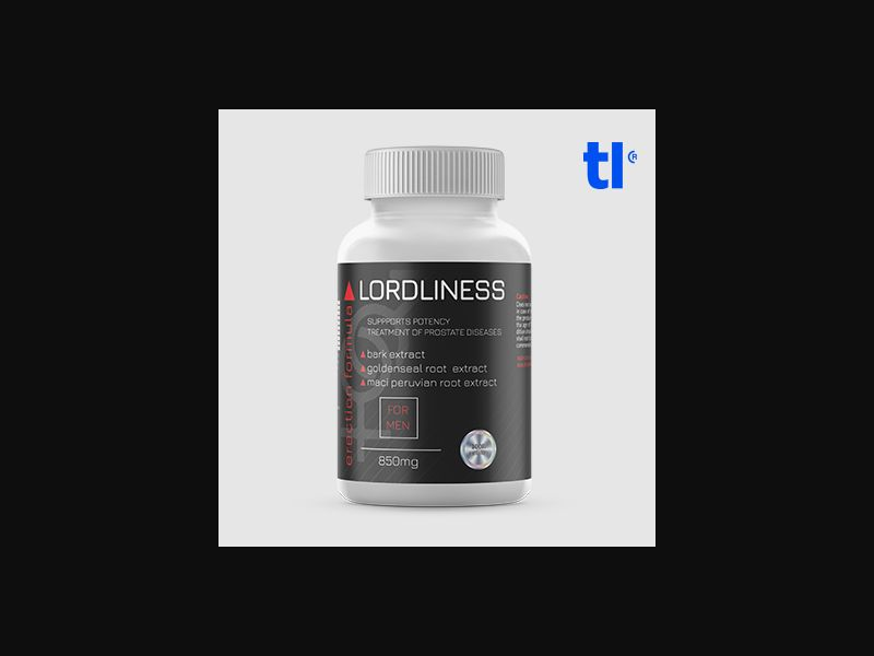 Lordliness - adult - CPA - COD - Nutra