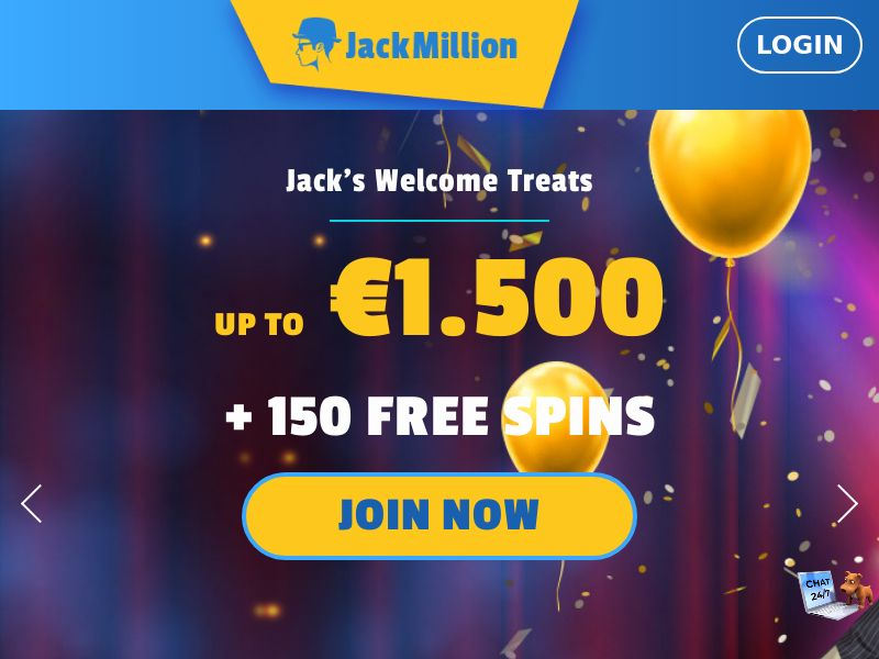 Jack Million - IT (IT), [CPA], Gambling, Casino, Deposit Payment, million, lotto