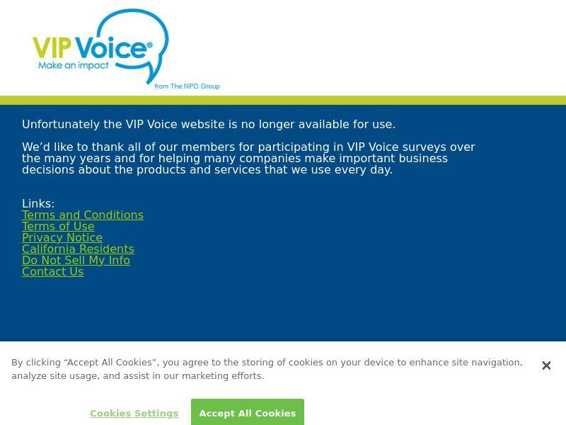VIP Voice - INCENT - CA