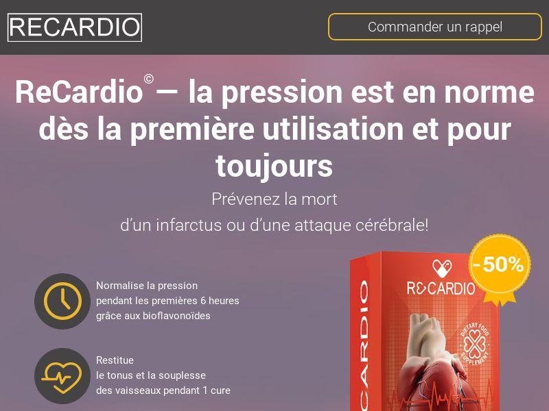 ReCardio FR - pressure stabilizing product