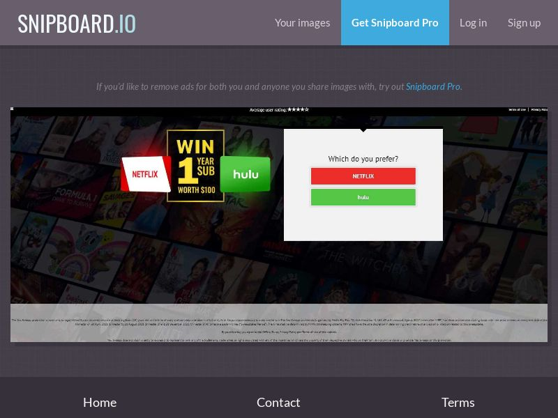 39865 - US - YouSweeps - Win a subscription of your choice (Netflix) - SOI