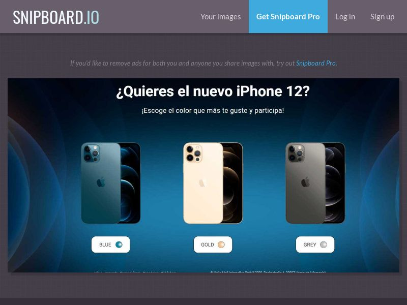 39141 - ES - PremiosFaciles - iPhone 12 NEW - SOI