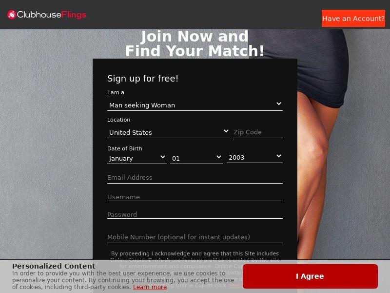 ClubhouseFlings - Direct Advertiser - US, CA, AU