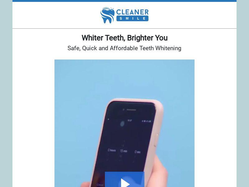 Cleaner Smile - Teeth Whitening
