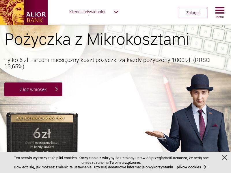 Alior Bank - Pożyczka z mikrokosztami (PL), [CPS], Business, Loans, Long term loans, Loan Approval, loan, money, credit