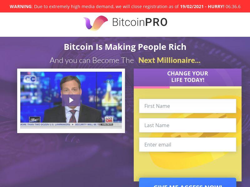 Bitcoin PRO CPA WW