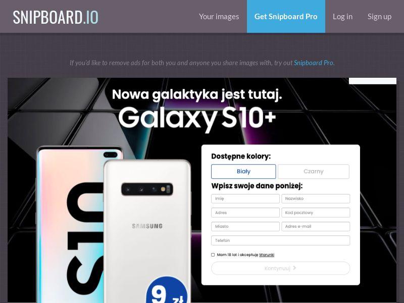 37213 - PL - BigEntry - Samsung Galaxy S10 v5 - CC submit